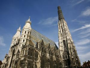 St. Stephen's Cathedral, Vienna, Austria, Europe by Levy Yadid