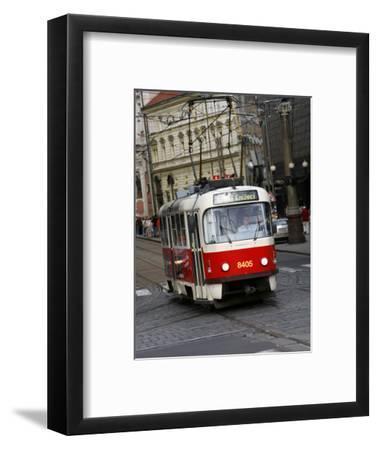Tram, Prague, Czech Republic, Europe