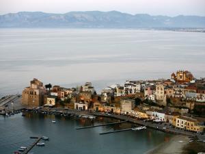 View over Castellammare Del Golfo, Sicily, Italy, Mediterranean, Europe by Levy Yadid
