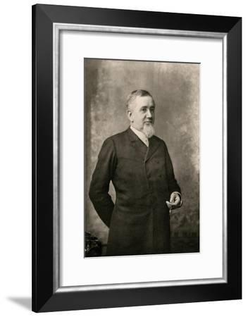 Lew Wallace, Governor of New Mexico Territory--Framed Photographic Print