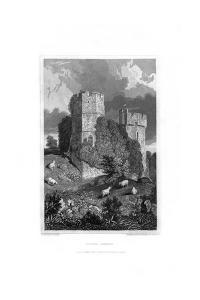 Lewes Castle, East Sussex, 1829