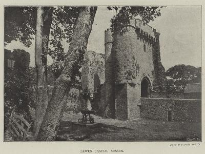 Lewes Castle, Sussex--Giclee Print