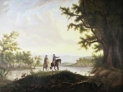Lewis and Clark Expedition-Thomas Mickell Burnham-Giclee Print