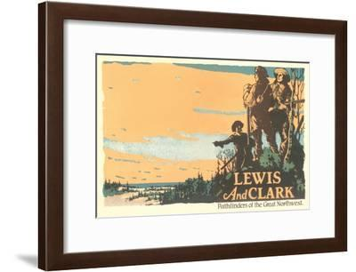 Lewis and Clark, Pathfinders--Framed Art Print