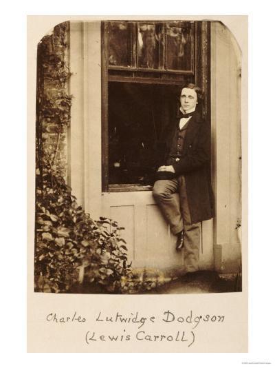 Lewis Carroll (Charles Lutwidge Dodgson 1832-1898), Self Portrait, circa 1863-Lewis Carroll-Giclee Print