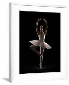 Ballerina in Releve Pose by Lewis Mulatero