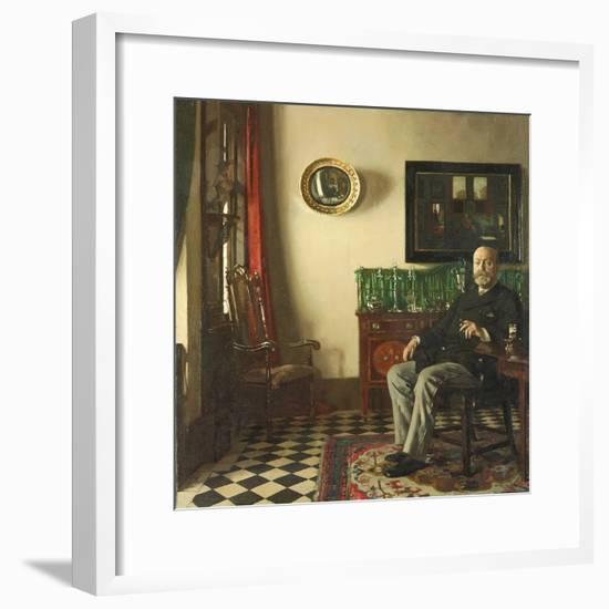 Lewis R. Tomalin, 1909-Sir William Orpen-Framed Giclee Print