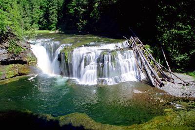 Lewis River Lower Falls-Douglas Taylor-Photo