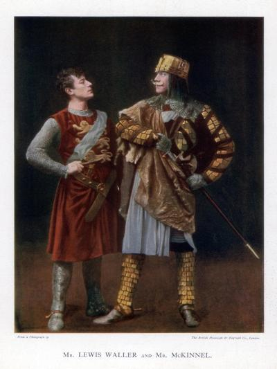 Lewis Waller and Mr Mckinnel, English Actors, 1901-British Mutoscope-Giclee Print