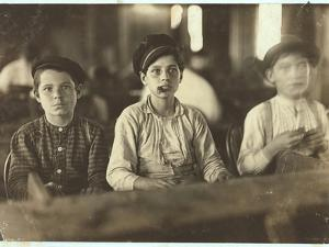 Boys Making Cigars at Englehardt and Co, Tampa, Florida, 1909 by Lewis Wickes Hine