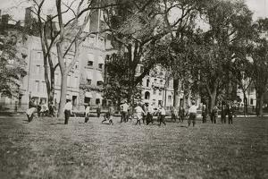 Common Football by Lewis Wickes Hine