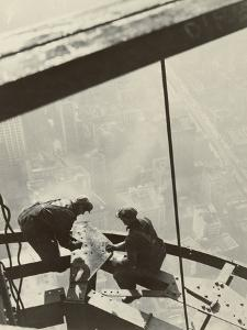 Empire State Building, New York, 1931 by Lewis Wickes Hine