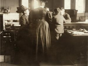 Juvenile Court, 1910 by Lewis Wickes Hine