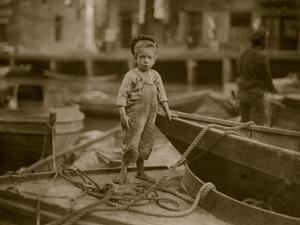 Miniature Fisherman by Lewis Wickes Hine