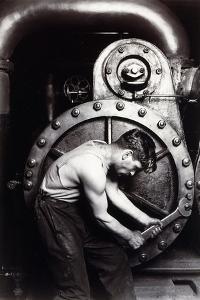 Powerhouse Mechanic, C.1924; 1930S by Lewis Wickes Hine