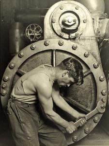 Powerhouse Mechanic, C.1924 by Lewis Wickes Hine