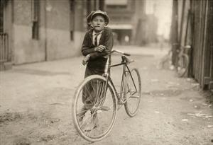 Waco: Messenger, 1913 by Lewis Wickes Hine
