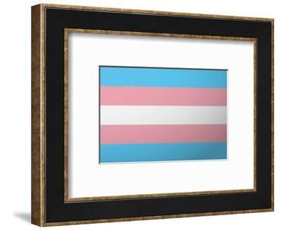 Lgbt Pride Flag--Framed Art Print