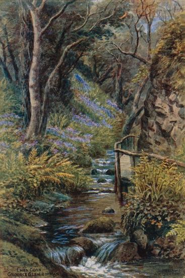 Lhen Coan, Groudle Glen, I of Man-Alfred Robert Quinton-Giclee Print