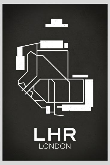 LHR London Airport--Art Print