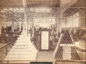 Liberia Soap and Coffee Display, Agricultural Hall, Philadelphia Centennial Exhibition, 1876
