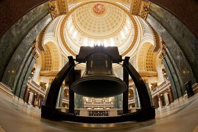 Liberty Bell Replica in Wisconsin State Capitol-Paul Souders-Photographic Print