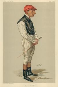 Fred Webb, 10 August 1889, Vanity Fair Cartoon by Liborio Prosperi