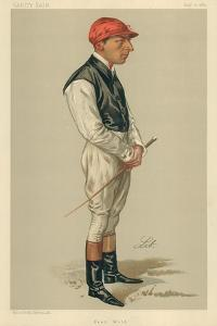 Fred Webb, 10 August 1889, Vanity Fair Cartoon by Liborio Prosperi