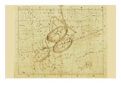 Libra-Sir John Flamsteed-Art Print