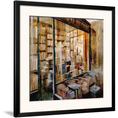 Librairie-Noemi Martin-Framed Art Print