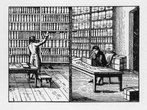 Librarian, Kaufmann, Rad. Um 1815