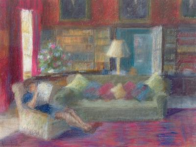 Library at Thorpeperrow-Karen Armitage-Giclee Print