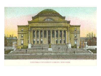 Library, Columbia University, New York City--Art Print