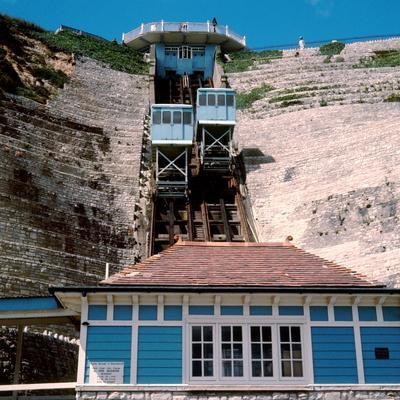 East Cliffs at Bournemouth, 1971