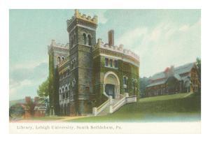 Library, Lehigh University, South Bethlehem Pa