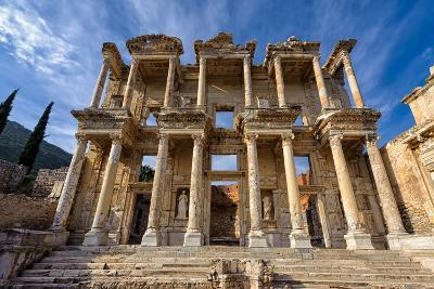 Library of Celsus-salparadis-Photographic Print