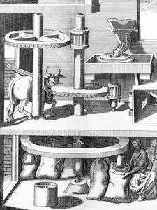 17th Century Milling Machine, Artwork by Library of Congress
