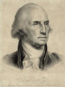 George Washington, First US President by Library of Congress