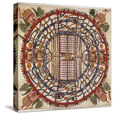 Jain Cosmological Map, 19th Century