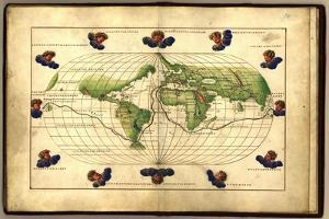 Magellan's Route, 16th Century Map by Library of Congress