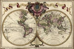 Map of the World, 1720 by Library of Congress