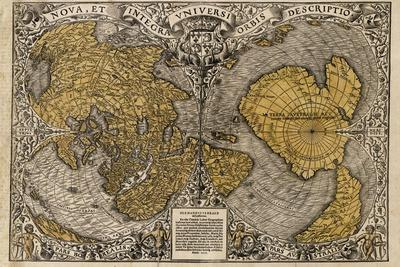 Oronce Fine's World Map, 1531