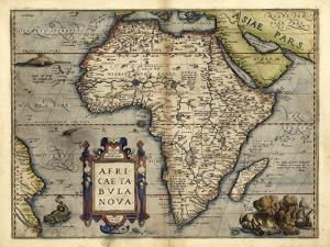 Ortelius's Map of Africa, 1570 by Library of Congress