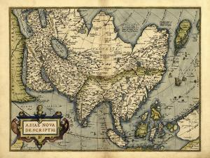 Ortelius's Map of Asia, 1570 by Library of Congress