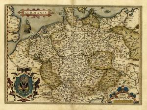 Ortelius's Map of Germany, 1570 by Library of Congress