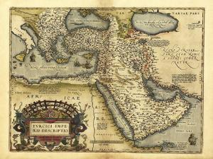 Ortelius's Map of Ottoman Empire, 1570 by Library of Congress