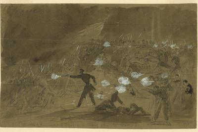 The Louisiana Tigers Attack the Union's Xi Corps During the Battle of Gettysburg