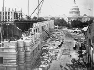 Library of Congress under Construction