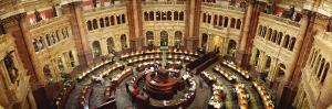 Library Reading Room, Library of Congress, Washington D.C., USA