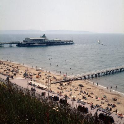 The Pier at Bournemouth 1971